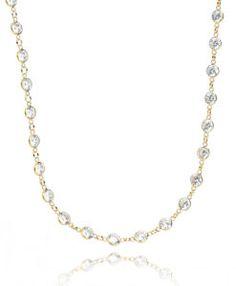 colar tiffany prata 925 com banho de ouro joia