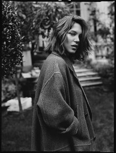 'La Vie d'Adele'     Feat. Léa Seydoux and Adèle Exarchopoulos     Paris Sept. 2013     Photography: El Pais     Fashion: Rossana Passalacqua