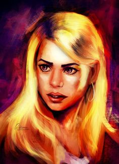 Rose by qzkills on Doctor Who Tumblr, I Am The Doctor, Rose Tyler, Bad Wolf, I Love Anime, Fan Art, Deviantart, Fictional Characters, Nerdy