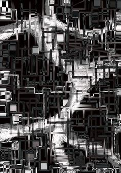 black & white installation - Nebojša Štrbac Digital Art, Street View, Black And White, Travel, Viajes, Black White, Trips, Traveling, Black N White