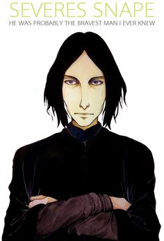 HP - Severes Snape by BotanicaXu.deviantart.com on @deviantART