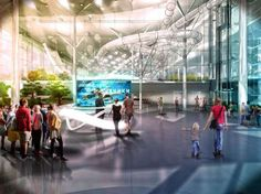 Reconstruction Olympic Complex Luzhniki by Arch group