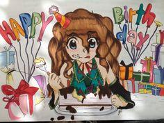 Anime - Birthday Present for my friend :)