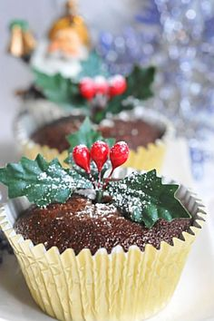 Sugar & Everything Nice: Chocolate Gingerbread Cupcakes