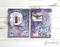 """My ATCs """"Insects""""...  Hello everyone!   Motives and themes which have connection with nature belong to the most beautiful ones. Mainly, when creating ATCs, butte..."""