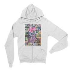 My Little Pony #1 - Unisex Flex Fleece Zip Hoodie