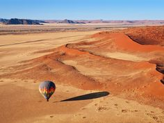 Sossusvlei Sossusvlei, Namib desert, Namibia...a beautiful land where you can find the oldest and probably the tallest sand dune on earth... One of the magical moment I experienced there was when I joined a hot air ballooning trip over the Sossusvlei.