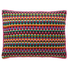 Stripe Knitted Cushion | Cath Kidston | #CKCrackingChristmas