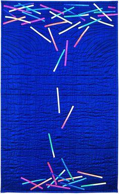 Vertigo by Janet McCallum.  Contemporary Quilt: On the Edge exhibit