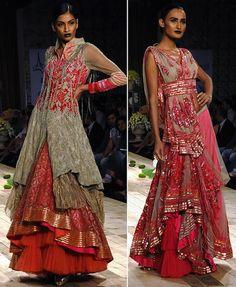 Top 10 Indian Bridal Wear Designers We Love Shantanu & Nikhil at Lakme Fashion week – Marry Me's - Indian Wedding Planning Blog
