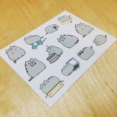 Cat) Follow us on the Instagram @papypaper. #cat #Stikers #planners #plannersprintable #printablestickers #erincondren #kikkik #filofax #plumpaper