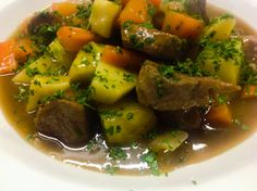 Traditional Irish Stew in the heart of the Mediterranean