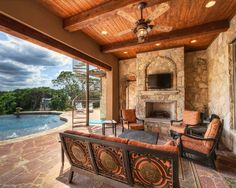I wont say no to this patio. Patio's are said to be one of the most important things about a house, as this is what most guests see