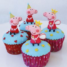 Sin Recetas » Cupcakes Peppa Pig