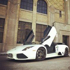 Wonderful, Elegant White Lamborghini!
