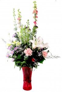 From The Pretty Pastels Collection, this beautiful floral arrangement was designed by The Flower Shop at Stauffers of Kissel Hill. For more information visit http://www.skh.com.