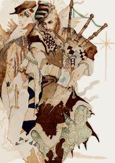 A Arte de Akiya Kageichi - Design Innova Art And Illustration, Illustrations And Posters, Kunst Inspo, Art Inspo, Fantasy Kunst, Fantasy Art, Game Art, Art Sketchbook, Asian Art