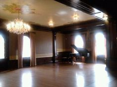 Semple Mansion, Uptown Minneapolis.  Yes, that is a Steinway.