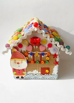 Sweet Tidings: Bits and Bobs Homemade Gingerbread Cottage
