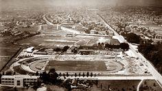 Zagreb - 1920-tih - Maksimir - stadion - pogled prema zapadu