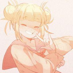 fanart of toga! by me :-) : BokuNoHeroAcademia Animes Yandere, Yandere Anime, Chica Anime Manga, Otaku Anime, Yandere Girl, My Hero Academia Memes, Hero Academia Characters, My Hero Academia Manga, Himiko Toga