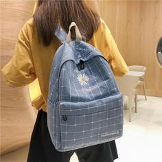 College School, College Girls, School Bags, Luggage Bags, 1 Piece, Fashion Backpack, Anti Theft Backpack, Cool Backpacks, Casual Bags