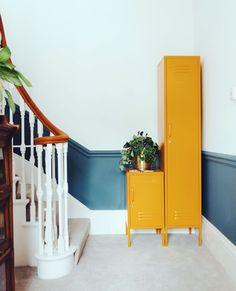 Mustard Skinny Locker The Inevitable Bourgeois Furniture Board In