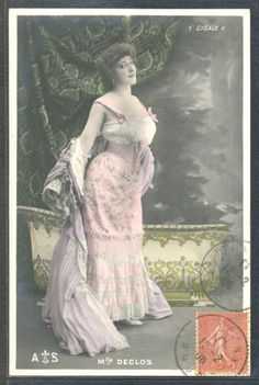 QA165-ARTIST-STAGE-STAR-Melle-DECLOS-CIGALE-Tinted-PHOTO-pc-1906