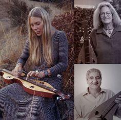 Joni Mitchell's dulcimers.  Dulcimer podcast.  Features luthier / dulcimer player / author Joellen Lapidus & Rick Scott
