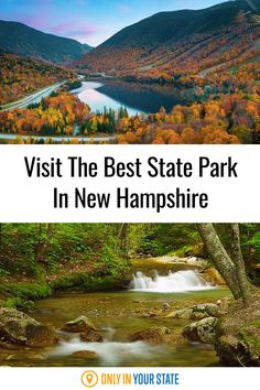 Visit the best and most beautiful state park in New Hampshire for outdoor fun all year long. Enjoy hiking, biking, an aerial tram, and nature at its finest. There are 48 trails to choose from for all skill levels. Franconia Notch, Granite State, Travel And Leisure, Ghost Towns, Outdoor Fun, New Hampshire, Biking, State Parks, Travel Destinations
