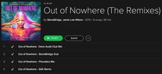 StoneBridge & Jamie Lee Wilson 'Out Of Nowhere' (Remixes) including fire from Dave Audé, Phonatics and SAK are streaming on Spotify http://smarturl.it/NowhereRMXSpotify