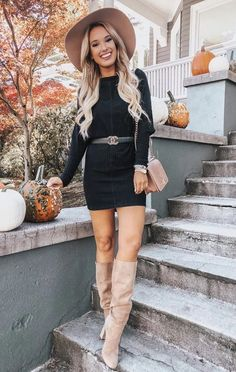 Trendy winter street style outfits and outfit ideas to step up your game this fa. - Slim Dresses For Women - Urban Winter Fashion Looks, Winter Fashion Casual, Autumn Fashion, Casual Winter, Fashion Spring, Black Women Fashion, Fashion Tips For Women, Womens Fashion, Fashion Edgy