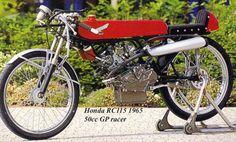 Honda RC115 Cafe Racer - Beautiful Motorcycles - (1965)