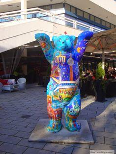 O que são e onde encontrar esses ursos espalhados por Berlim!