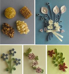 quilling patterns to print | Quilling Cards Designs