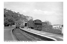 St. Ives. 4566 & train for St. Erth. 23.4.60 | by Roger Joanes