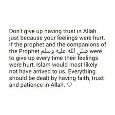 Trust Allah (Subhanahu Wa Ta'ala) always ❤ Islamic Love Quotes, Islamic Inspirational Quotes, Muslim Quotes, Religious Quotes, Quran Verses, Quran Quotes, Faith Quotes, Life Quotes, Cool Words