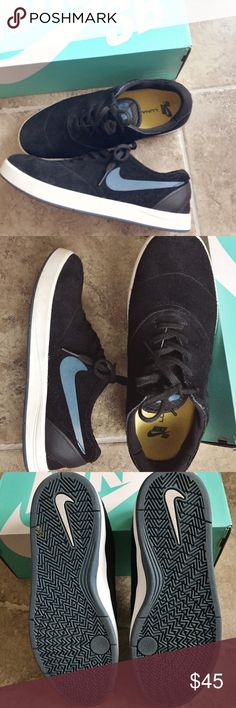 Men's SB Eric Koston Shoes Men's Nike SB shoes. Eric Koston (professional skateboarder) designed. These shoes were worn once and then put away. They have lunarlon on the sole so they are very comfortable. Fit true to size. Box not included. Nike Shoes Sneakers