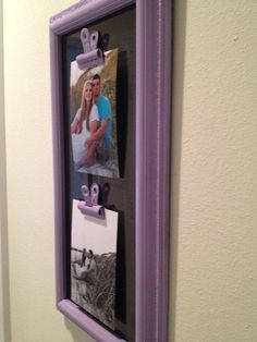 Great use for a custom frame!