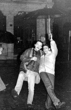 Procesión del novato 1982, cedida por Raúl Alvarez Garzo.