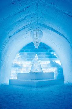 Ice Hotel at Jukkasjärvi, Sweden