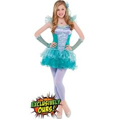 Teen Girls Ariel Costume - Party City MY granddaughters custume. She is beautifull ! Modest Halloween Costumes, Costumes For Teenage Girl, Ariel Costumes, Cute Costumes, Teen Costumes, Costume Ideas, Halloween City, Halloween Ideas, Halloween Stuff