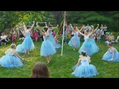 VIDEO: ▶ 2012 Fairy Festival with Rockford Dance Company at Womanspace: Maypole Dance - YouTube