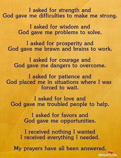 god quotes about strength - Google Search