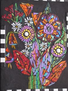 mosaic By KAT GOTTKE ,, called Inspire by Shelley,, sept 2012