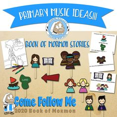 Primary Music Helps 2020 - Online Resources for teachers and leaders of The Church of Jesus Christ of Latter-day Saints Primary Program, Lds Primary, Primary Music, Fhe Lessons, Primary Lessons, Book Of Mormon Stories, Willis Family, Family Home Evening, Visiting Teaching