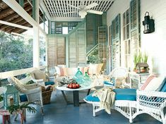 """Front Porch Ideas That Say """"Welcome""""   Decorating Files   #frontporch #curbappeal"""