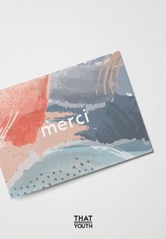 Color of 2019 Living Coral card collection 2018 by ThatSupersonicYouth Id Card Design, Thank You Card Design, Business Card Design, Thank You Cards, Collateral Design, Stationery Design, Packaging Design, Branding Design, Logo Design