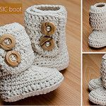 the CLASSIC boot by Hooked Crochet Boutique
