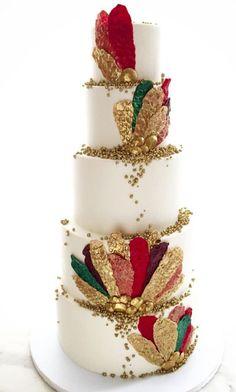 Wedding cake idea; Featured Cake: Lael Cakes